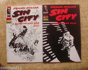 Comics-Sin-City-n-1-y-2-Moriria-por-ella-Legend-Norma-Editorial-ano-1994