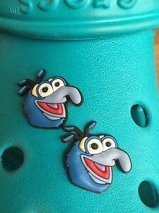 2 Gonzo Muppets encantos del zapato Para Crocs Y Jibbitz Pulseras. Uk libre de envío.