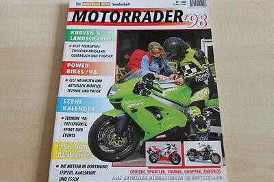 Herzhaft 151838 Motorrad Katalog 1998 Motorrad News