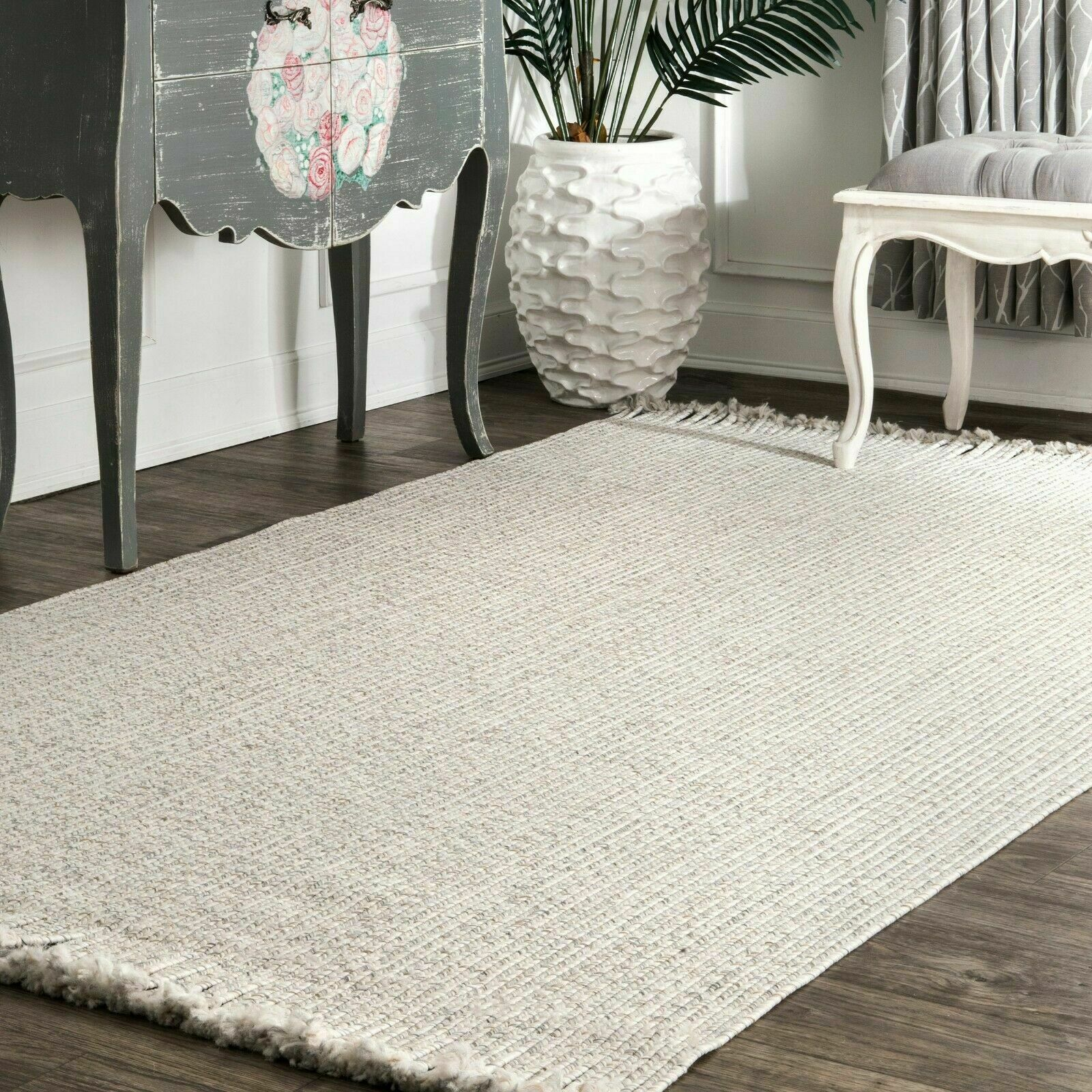 Park B Smith Chindi Solid Rug 4 9 X 7 11 For Sale Online Ebay