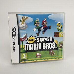 Nintendo-DS-New-Super-Mario-Bros-Spiel-100-Komplett-OVP-mit-Broschueren-VGC