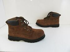 Unisex Brahma Owden Boots in Brown Size M-8 F-9.5 Medium