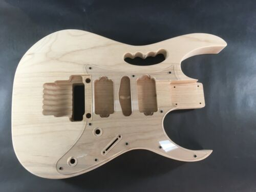 rear route HSH Jem style Alder guitar body Unfinished 6 string OSNJ A4