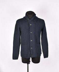 G-star-Housse-Cardigan-Hommes-Laine-Pull-Taille-L