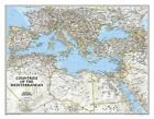 Mediterranean Region Classic, Laminated: Wall Maps Countries & Regions by National Geographic Maps (Sheet map, 2014)