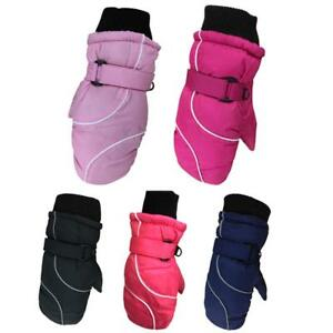 Children Kids Winter Snow Warm Gloves Boy Girls Ski Snowboard Wind/Waterproo<wbr/>f