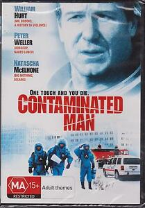CONTAMINATED-MAN-WILLIAM-HURT-PETER-WELLER-NATASCHA-MCELHONE-DVD-NEW