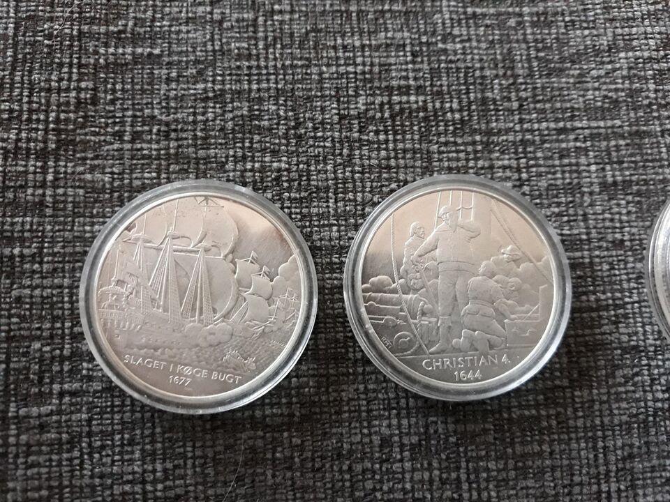 Danmark, medaljer, 1677