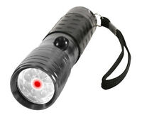 Flashlight Laser Pointer 8 Led Flashlight W/ Built-in Red Laser Pointer 880