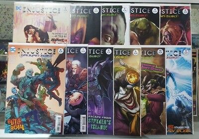 SEE PICS AND SCANS HARLEY QUINN COVER WOW! INJUSTICE GROUND ZERO #1