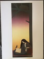 Will Barnet The Caller 1977 Poster Authorised Reproduction 40x29cm 7