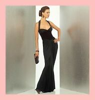 Pattern Vogue 1016 Womens Size 6 To 20 Prom Dress Floor Length Usa