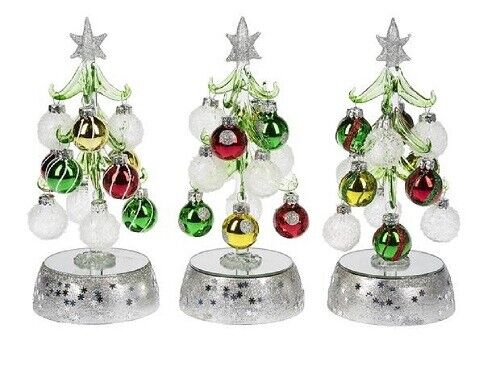 Ganz Light Up Christmas Tree With Ornament Choose Your Style Ex26274