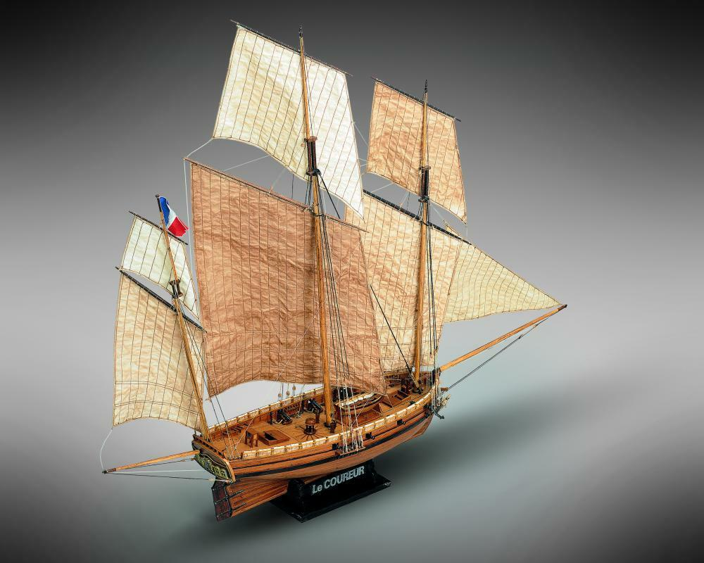 Mamoli Lexington 1775 1 100 MV48 Model Boat Kit