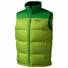 $150 Marmot Guides Down Puffer Vest Jacket 700 Fill MENS LARGE HIKING PACKABLE
