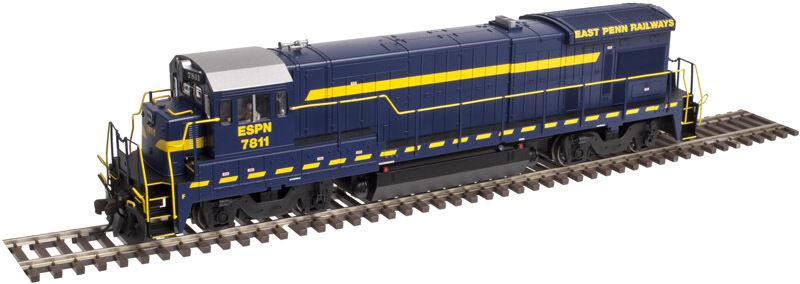 Atlas 10002093, Ho, Locomotora Ge B30-7 con DCC y Sonido-East Penn Ferrocarril EPR