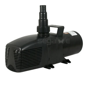 5283 gph submersible water pump koi pond fountain for Koi fish pond water pump