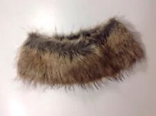 BP Faux Fur Stole Scarf 1 Size Grey Brown Dress Mini Shrug Cape Neck Collar Wrap