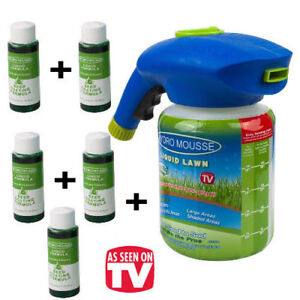 Hydro Mousse Household Seeding System Liquid Spray Seed Lawn Care