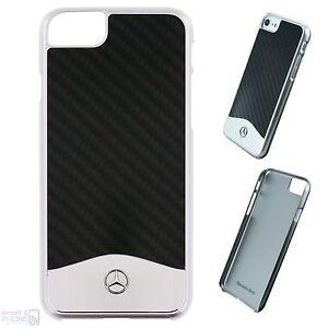 mercedes real carbon aluminium iphone 8 7 6 hard case. Black Bedroom Furniture Sets. Home Design Ideas