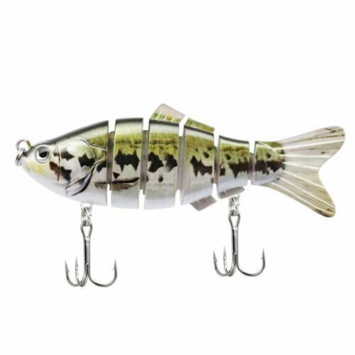 Hard Jointed Fishing Lure Multi Bait Swimbait Bass Life Like Minnow Lures Pike