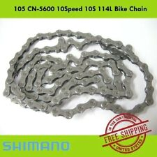Shimano 105  CN-5600 10Speed 114 Link Bicycle Chain  Road Bike MTB