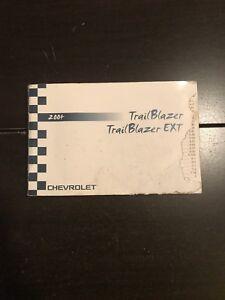 2004 chevy chevrolet trailblazer owners manual oem free shipping ebay rh ebay com 2004 trailblazer service manual pdf 2004 chevy trailblazer service manual