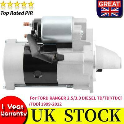Starter Motor for FORD RANGER 2.5//3.0 DIESEL TD//TDi//TDCi//TDDi 1999-2012 UK