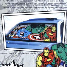 Marvel Comic Windshield Front Window Sun Shade Auto Car Accessory