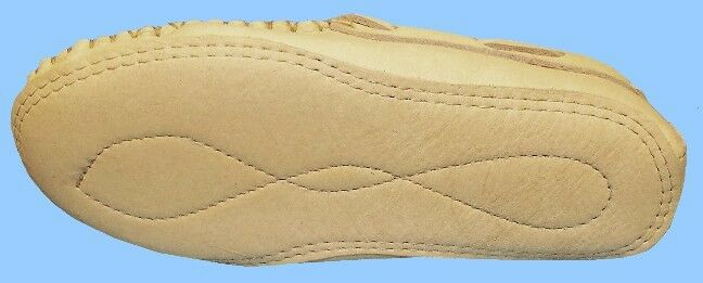 New Uomo size 11 CARIBOU-REINDEER LEATHER DRIVING SHOE-BOAT-MOCCASIN-TRIPLE SOLE SOLE SOLE 3c2aba