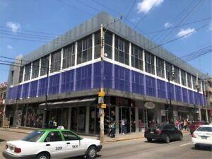 Renta Primer piso Edificio en el Centro