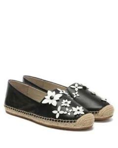 bcbde322b5f5 Image is loading MICHAEL-Michael-Kors-Lola-Floral-Espadrille-Flat-Shoes-