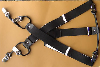 Suspenders 6 Strong Clips Colour & Length Selection 3,5cm Wide