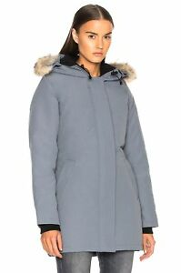 26b052c09f60 Image is loading Canada-Goose-Victoria-Coyote-Fur-Trimmed-Parka-3037L-