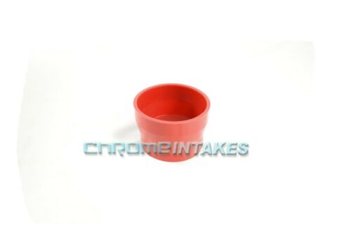 """RED 3.5/""""-4/"""" AIR INTAKE//PIPING RUBBER REDUCER COUPLER FOR MERCURY//LINCOLN"""