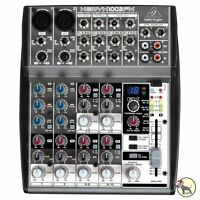 Behringer Xenyx 1002fx 10 Channel Audio Mixer With Multi Effects Processor