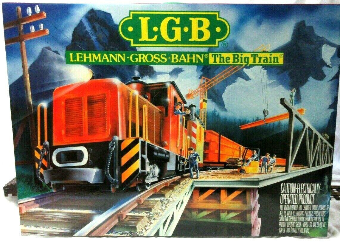 LGB 21990 US INDUSTRIAL FREIGHT TRANG SET