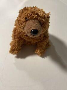 "Ty Beanie Babies SEQUOIA the Bear 7"" Beanbag Plush Stuffed Animal Toy No Tags"