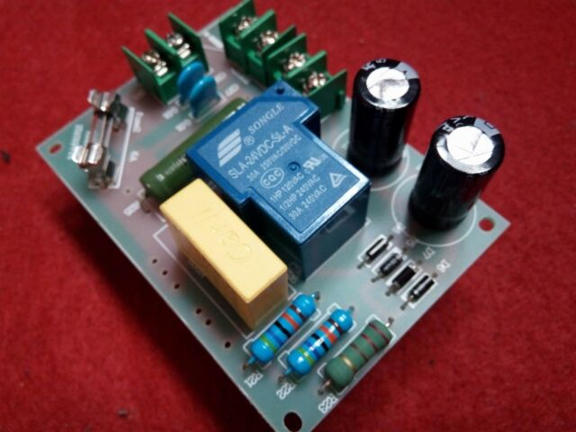 220V 2000W Audio Amplifier Power Delay Soft Start Protection Board AC Filter Out
