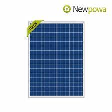Newpowa Npa100 12 100w 12v Polycrystalline Solar Panel For Sale Online Ebay