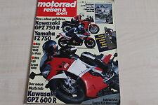 164740) Yamaha FZ 750 im Fahrbericht - Motorrad Reisen Sport 01/1984