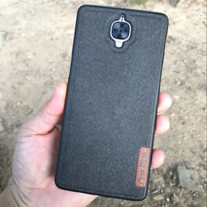 competitive price 42f9b fca40 Details about Ultrathin Soft TPU+Cotton Cloth Leather Skin Back Cover Case  For Oneplus 5T 3T 6