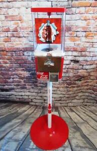 Coca-cola-gumball-machine-metal-stand