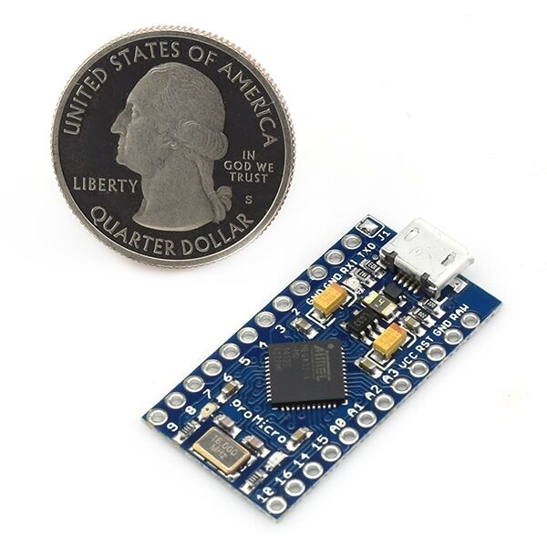 Leonardo Pro Micro  5V/16M 16MHz MEGA32U4 (Arduino-compatible) Pro mini