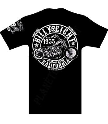* * Kalifornia Kustom Shop Sweat capuche Billy Eight fermeture zip