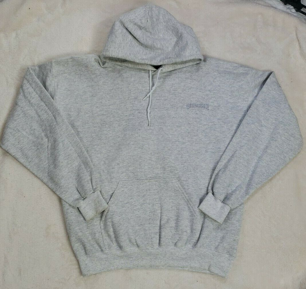 Levis Vintage Mens Gray Hoodie Size L Made in USA… - image 1