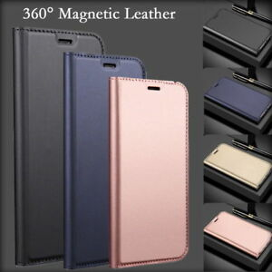For-Huawei-Mate-9-P9-P10-P20-Lite-Leather-Flip-Wallet-Magnetic-Case-Cover-Skin