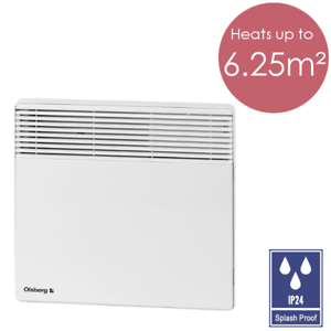 SALE: Olsberg 500W Electric Panel Heater For Room Bathroom ...