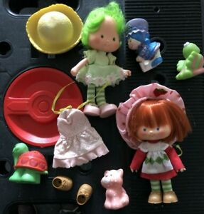 Vintage Strawberry Shortcake Character Figures And Accessories Ebay