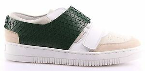 Details about Men's Shoes Sneakers DIRK BIKKEMBERGS DBR 102345 strong er218 White Green New show original title